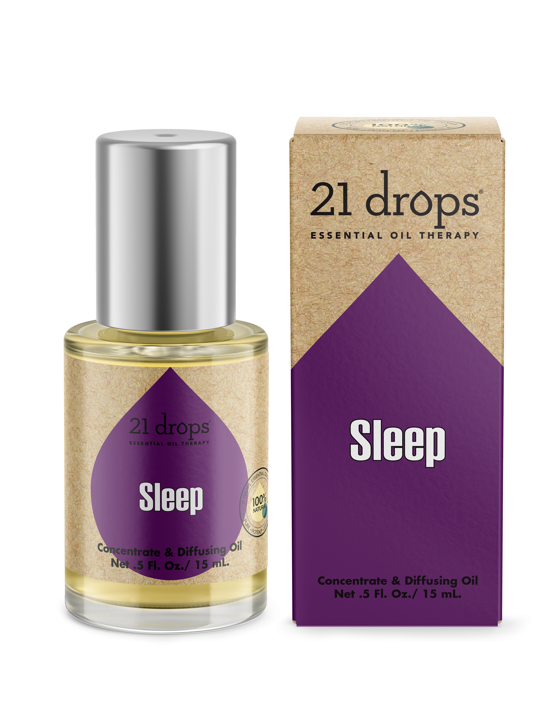 21 drops sleep #18 essential oil aromatherapy concentrate and diffusing oil