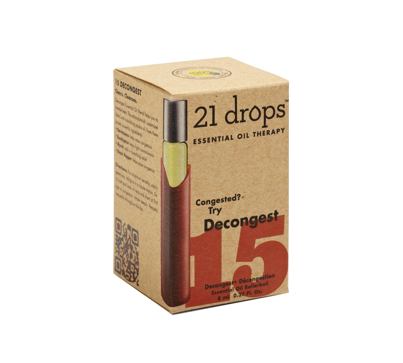 21 drops Decongest Essential Oil Blend