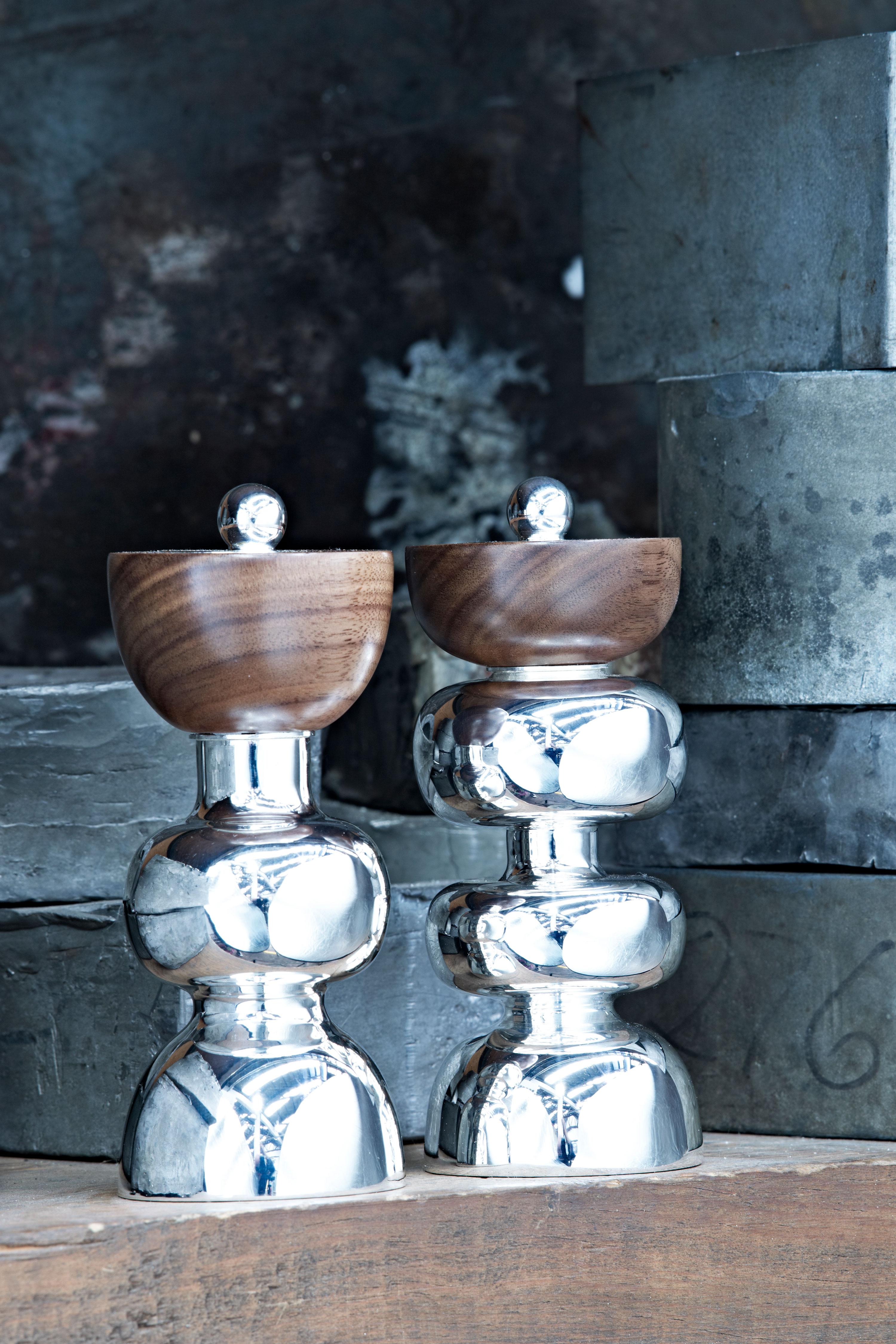 Tane Silverware Tableware Handmade in Mexico Designed by London Studio Bodo Sperlein