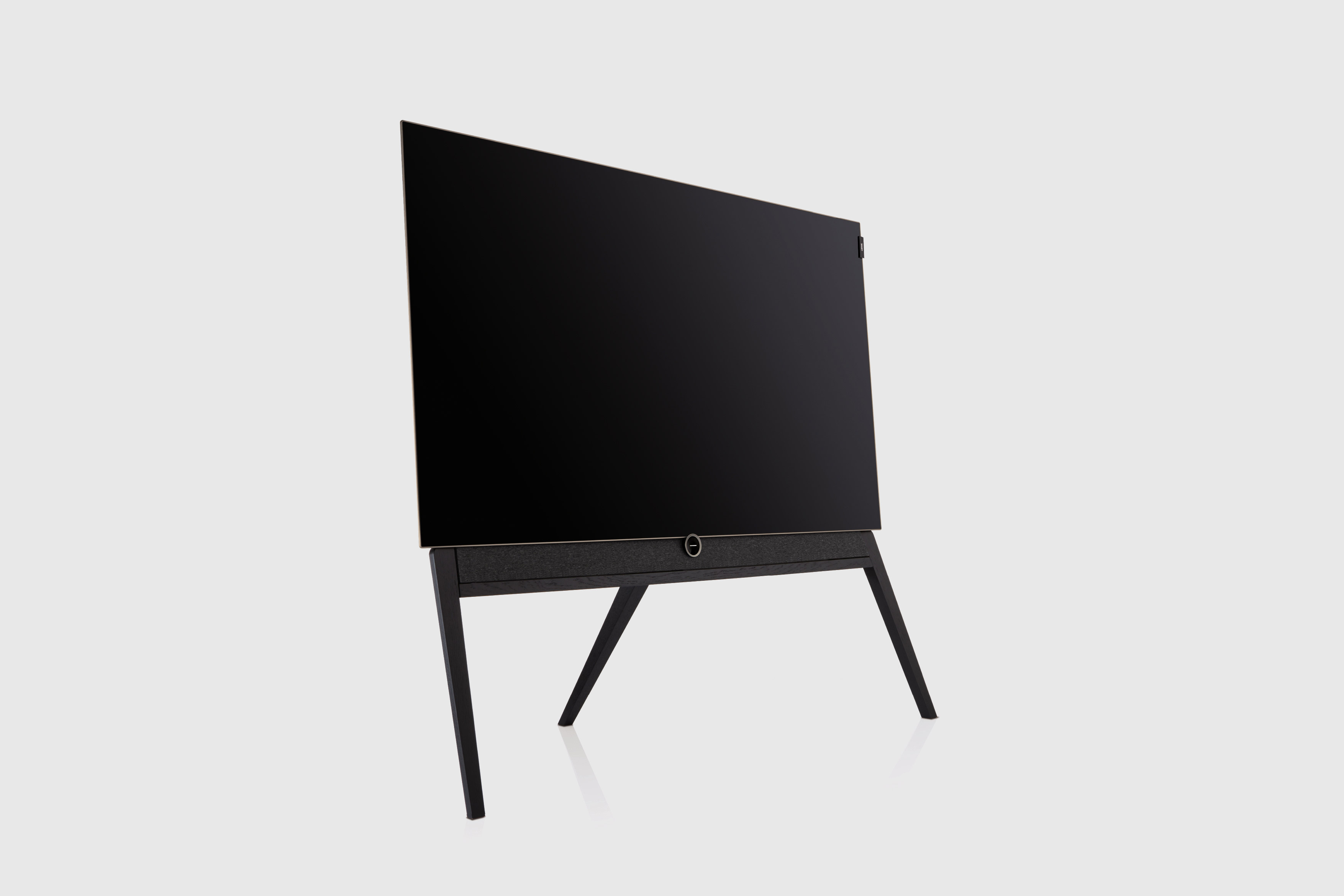 Loewe bild 5 OLED Television Floorstanding Black Oak Technology design by Bodo Sperlein