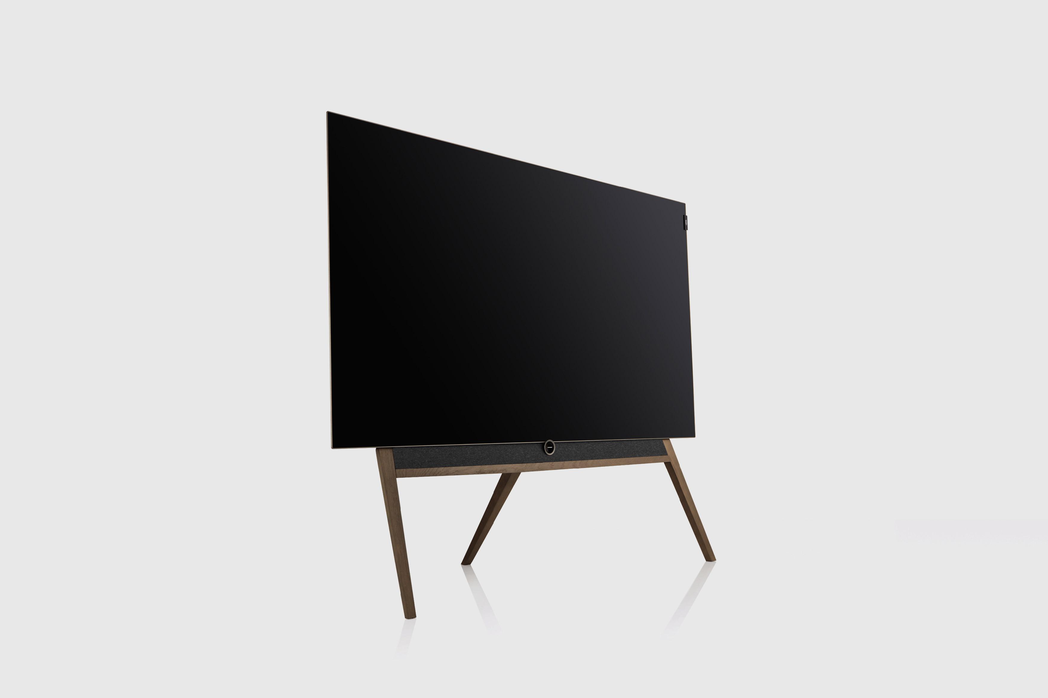 Loewe bild 5 OLED Television Floorstanding Silver Oak