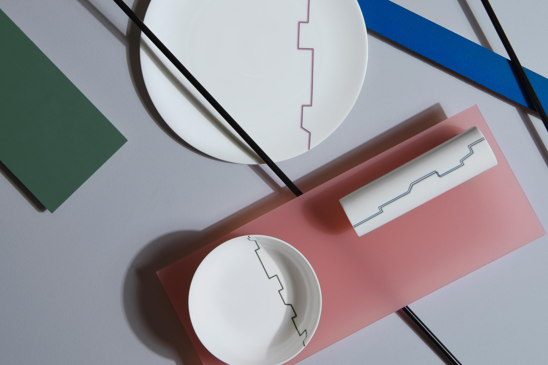 Dibbern Avenue Bauhaus Inspired Tableware Decor designed by Bodo Sperlein
