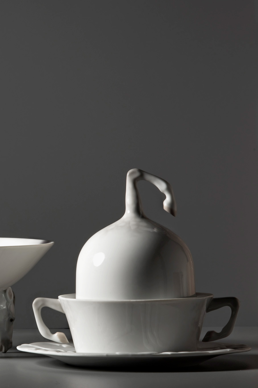 Lladro Equus Porcelain Tableware Collection Designed by London Based Studio Bodo Sperlein