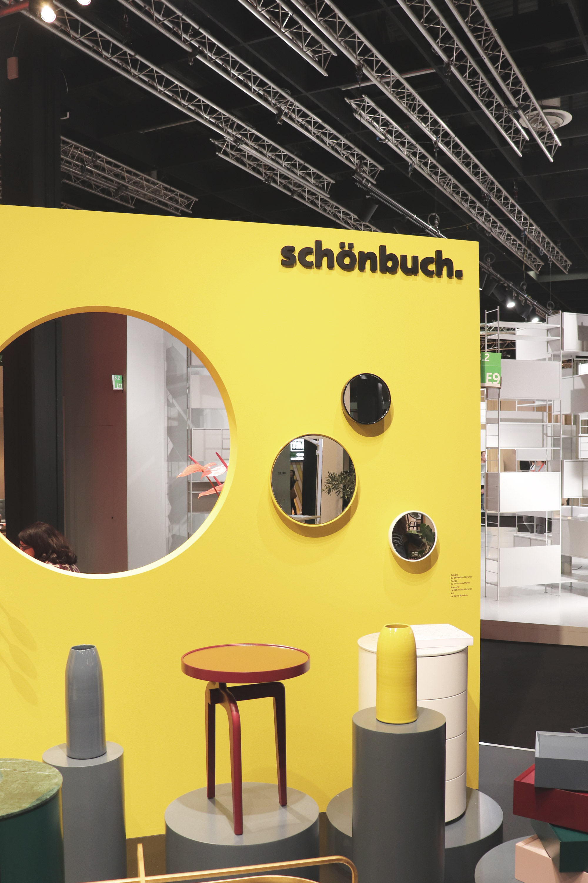 Schonbuch Design Collaboration Launched at IMM 2019, Design by Bodo Sperlein