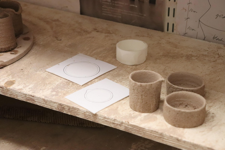 Bocuse D'or Side Dish Ceramics Production