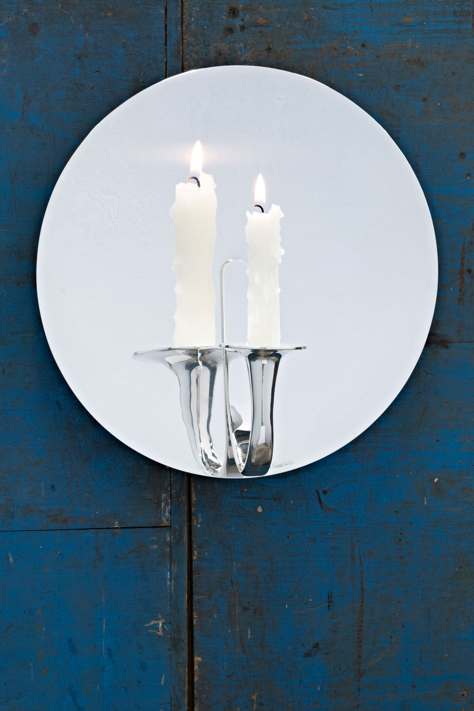 Tane Silver Lighting Collection designed by Bodo Sperlein
