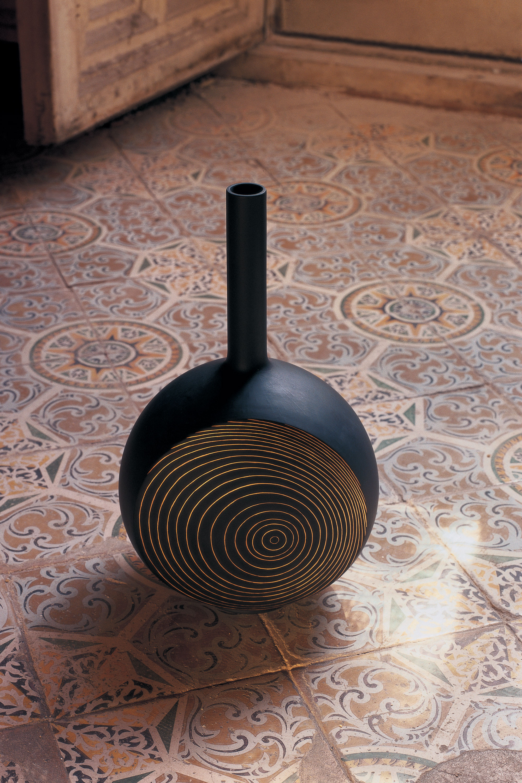 Lladro Porcelain Canvas Vase Designed by London Based Studio Bodo Sperlein