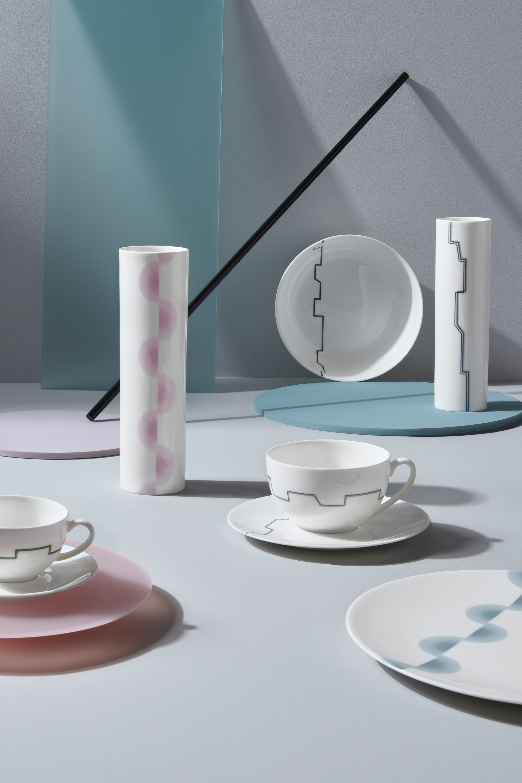 Dibbern Sequence Bauhaus Inspired Tableware Decor designed by Bodo Sperlein