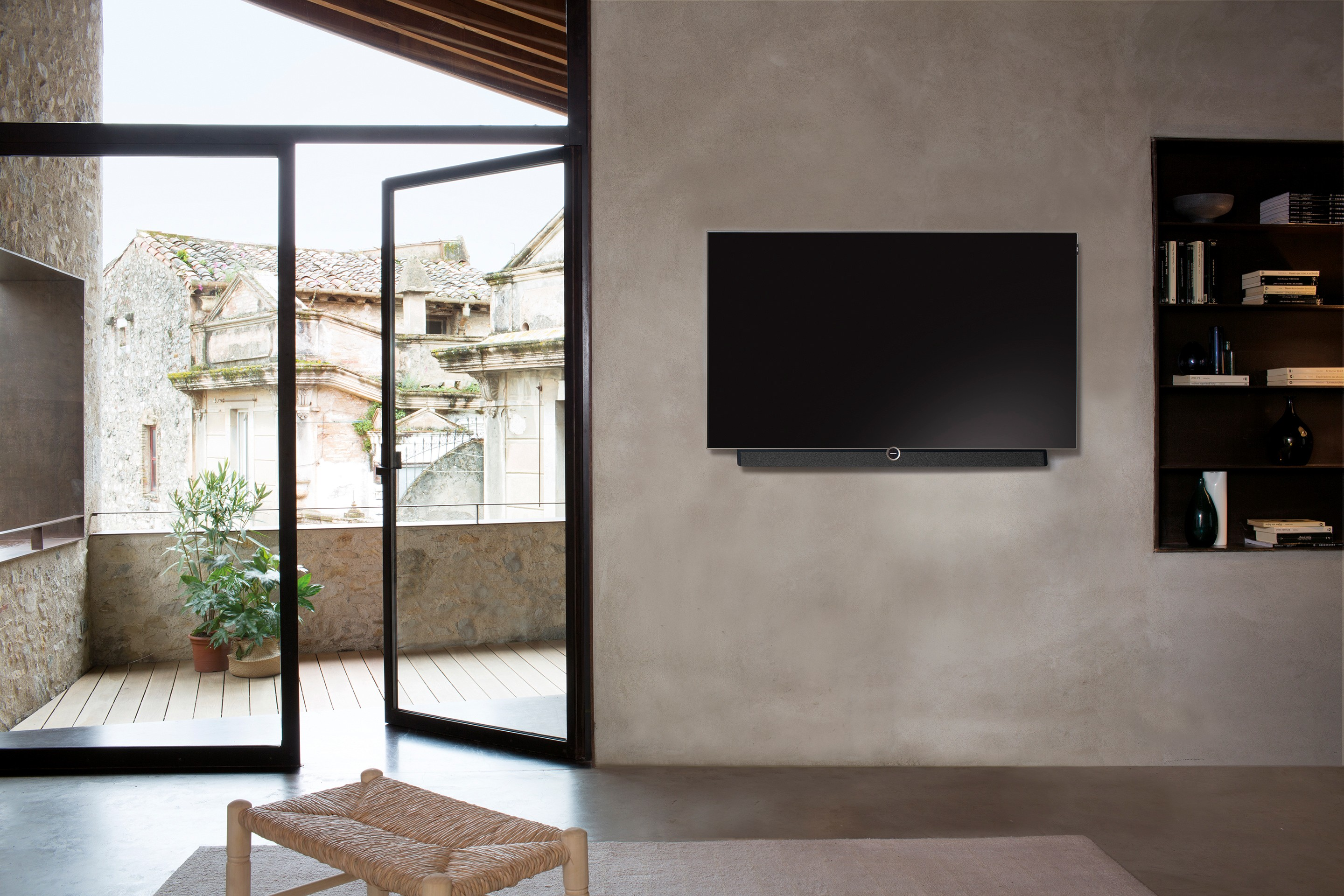 Loewe bild 5 OLED Television Wall-mounted Product Design and Art Direction Bodo Sperlein