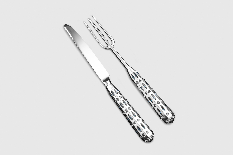 Swarovski Cutlery Design by Bodo Sperlein