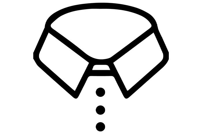 3-Button Collar