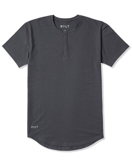 Henley Drop-Cut Shirt