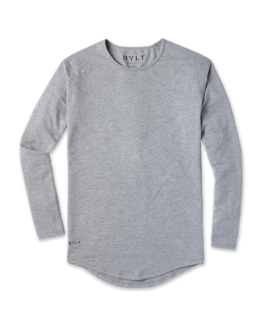 Drop-Cut Long Sleeve: LUX