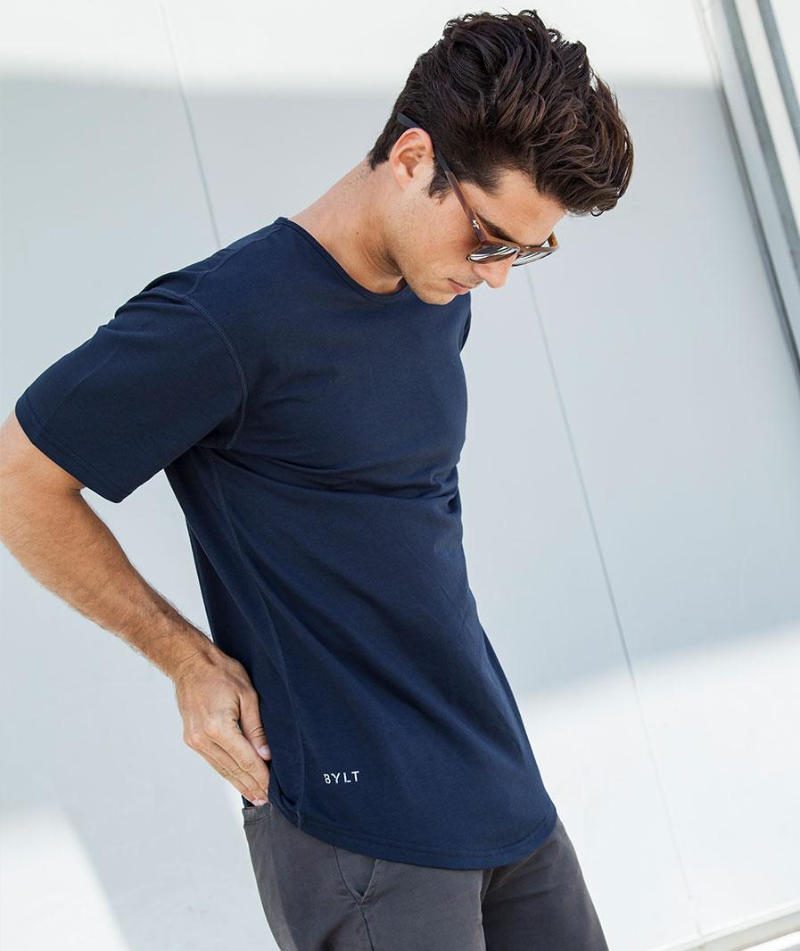 Drop-Cut Short Sleeve LUX