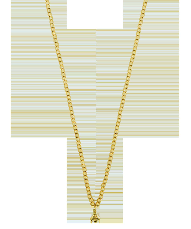 Carolina Bucci Florentine Finish Long Beaded Necklace