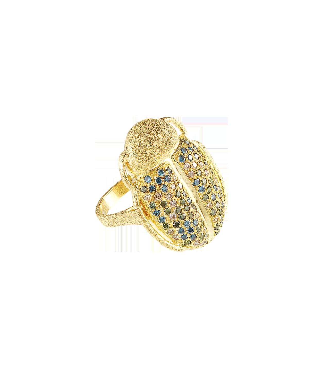 Carolina Bucci Scarab Ring
