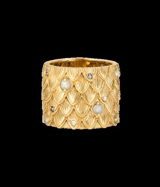 Carolina Bucci Owl Feather Ring