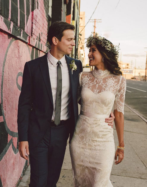 Real Bride Bridgette gown