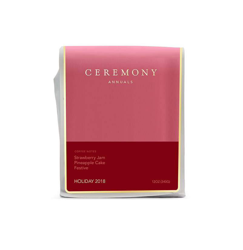 Ceremony Annuals Holiday 2018 bag