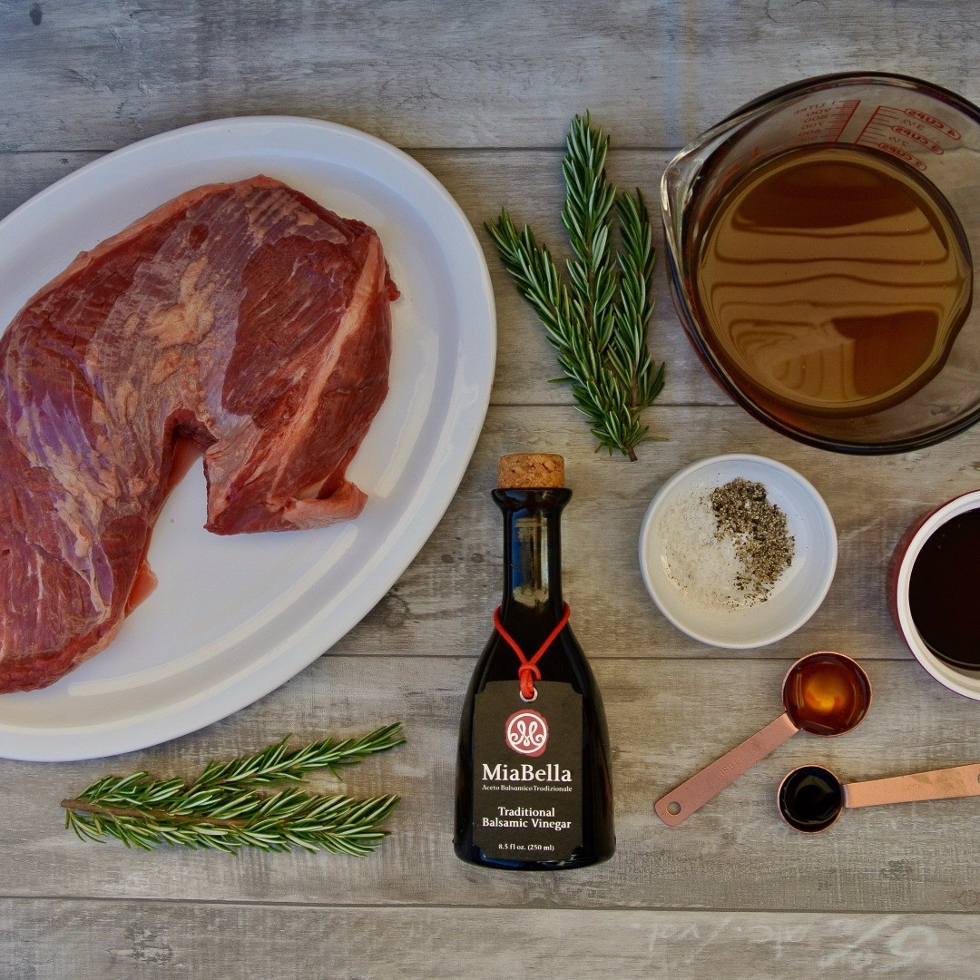 Balsamic Rosemary Beef Ingredients