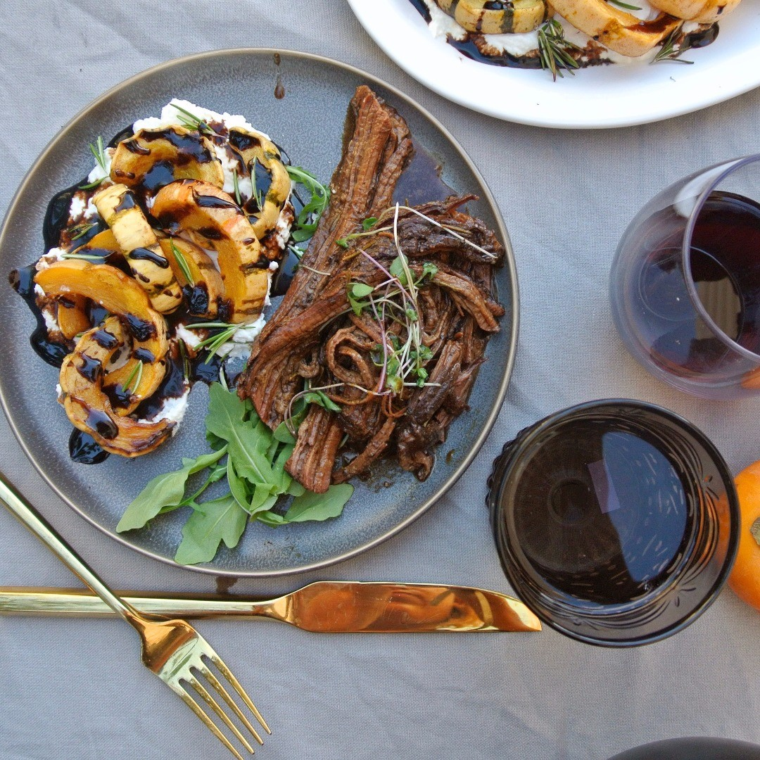 Balsamic Delicata Squash, serve for a memorable Thanksgiving