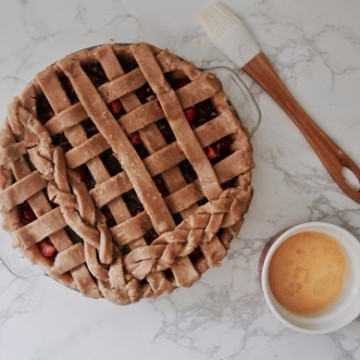 Recipe to Make a Strawberry Balsamic Pie