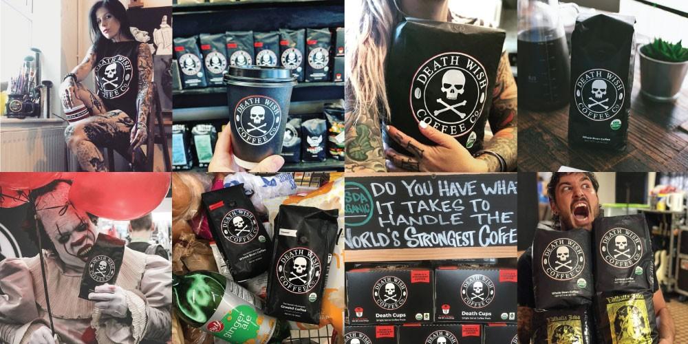 Death Wish Coffee The Highest Caffeine Coffee Death