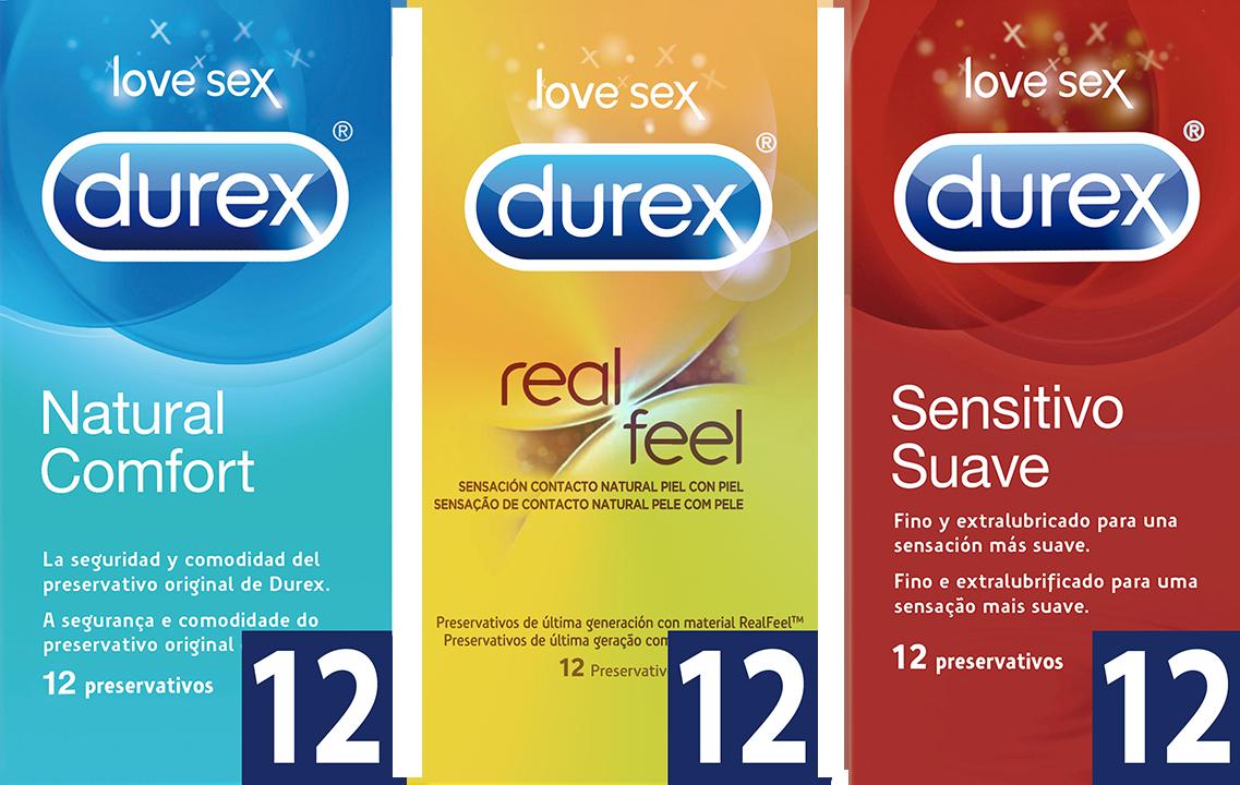 nuestros diferentes condones