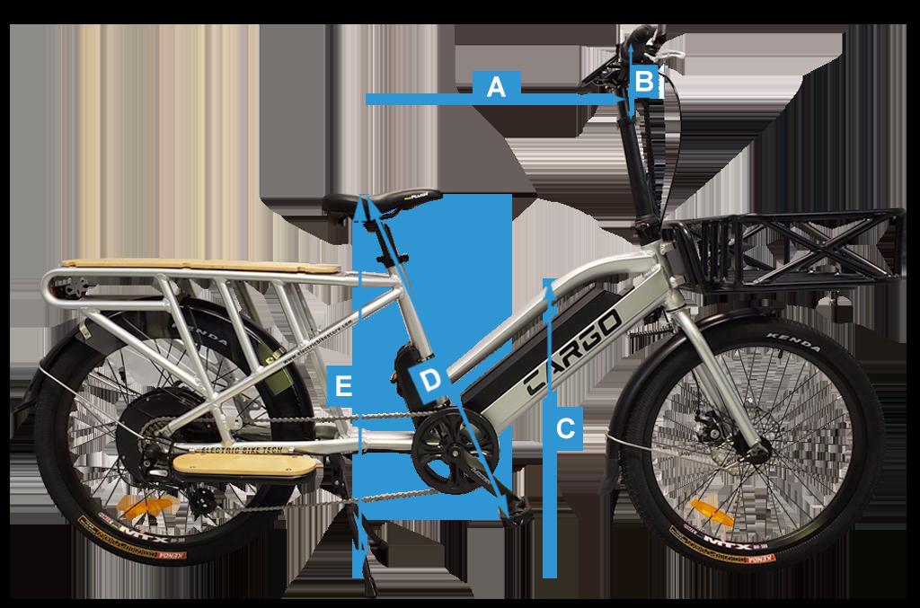 Electric Cargo Bike Sizing