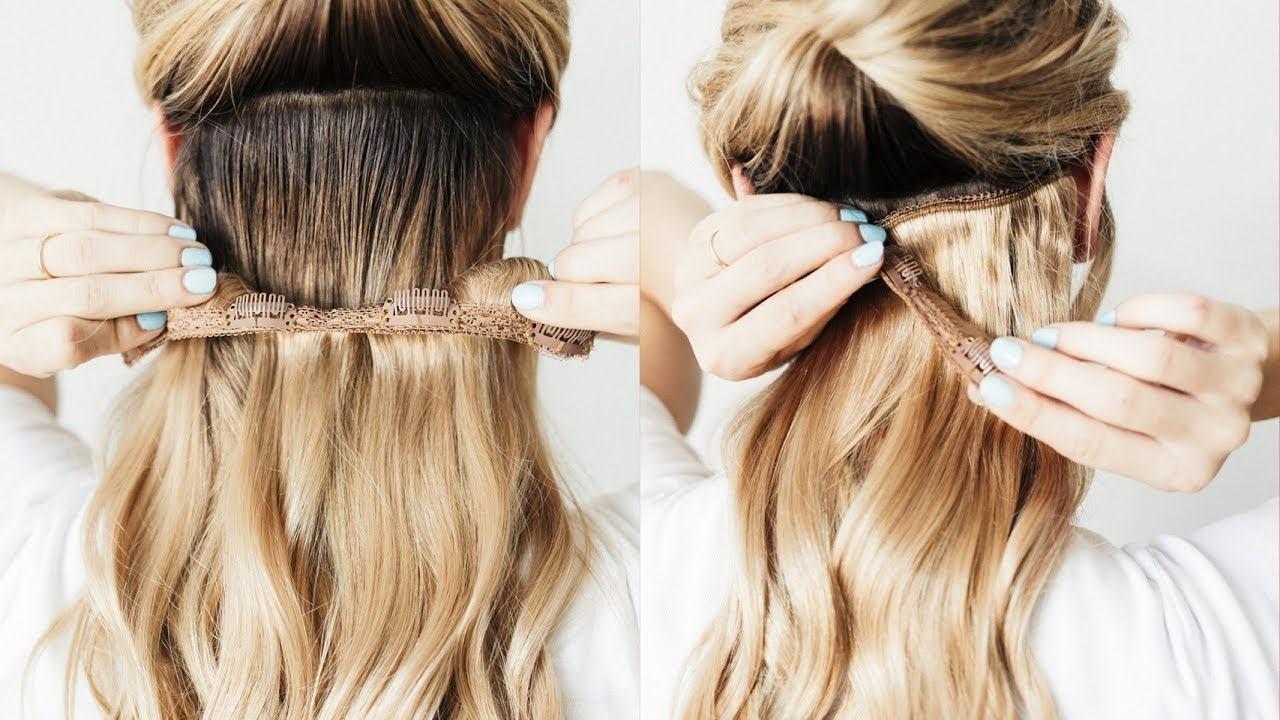 Erabella #18 Dirty Blonde clip in hair extensions