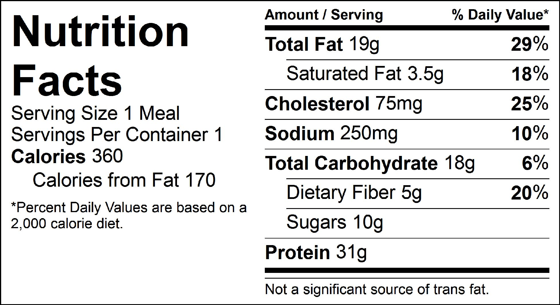 bbq grilled salmon nutrition facts
