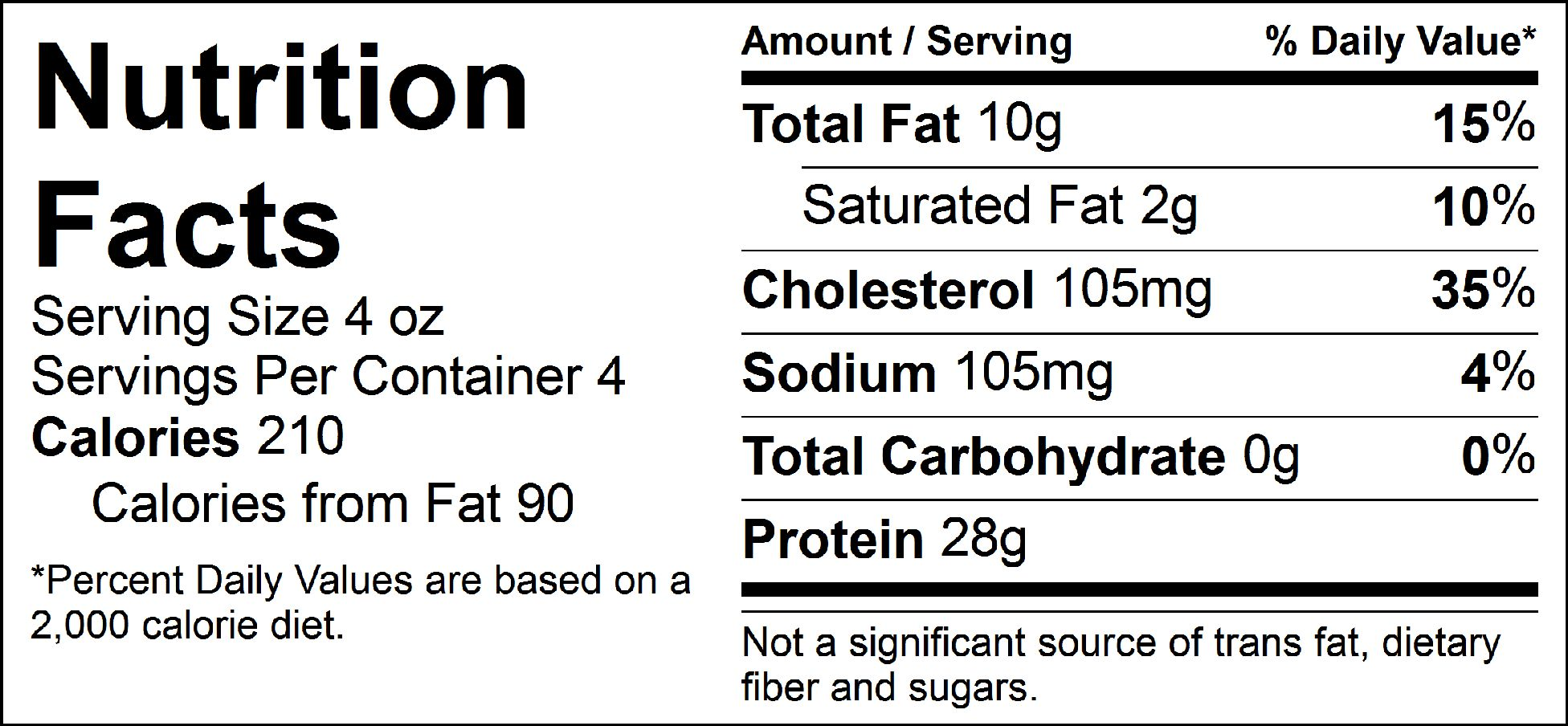 pure protein italian steak nutrition facts