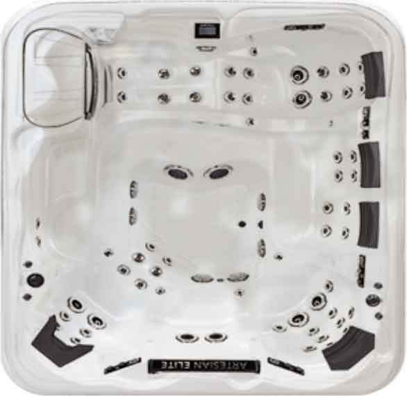 Artesian Hot Tub Shell Color - White
