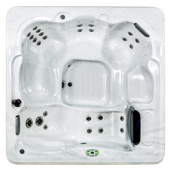 Silver Marble Hot Tub Shell Color