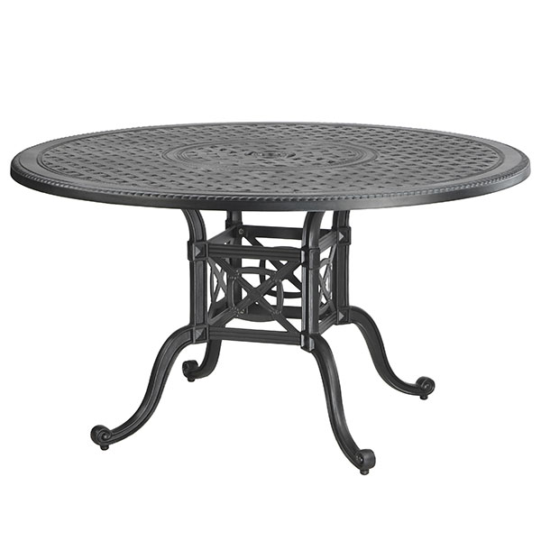 "Grand Terrace 48"" Round Aluminum Table By Gensun"