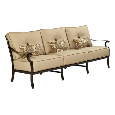 Monterey Ultra High Back Outdoor Sofa by Castelle