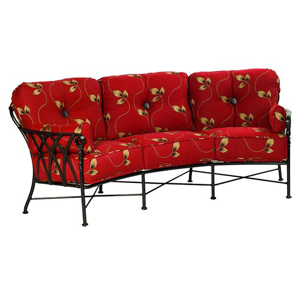Veranda Crescent Outdoor Sofa by Castelle