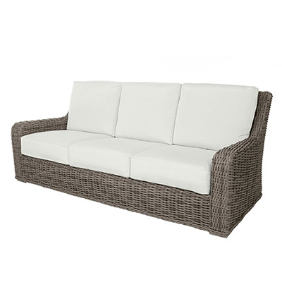 Laurent Outdoor Woven Sofa by Ebel