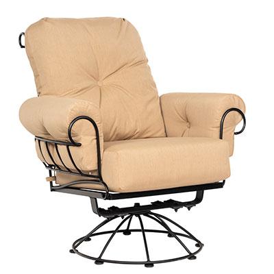 Terrace Outdoor Swivel Lounge Chair by Woodard