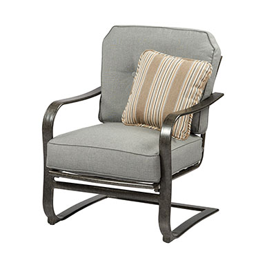 Madison Outdoor Patio C-Spring Chair by Agio International