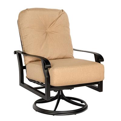 Cortland Swivel Rocking Lounge Chair by Woodard