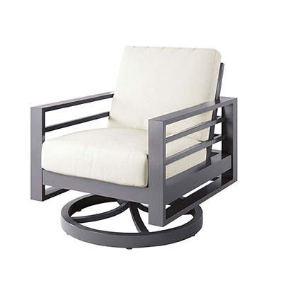 Palermo Outdoor High Swivel Chair by Ebel