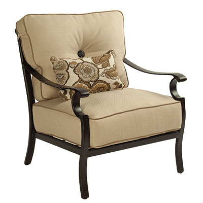 Monterey Ultra High Back Outdoor Lounge Chair by Castelle