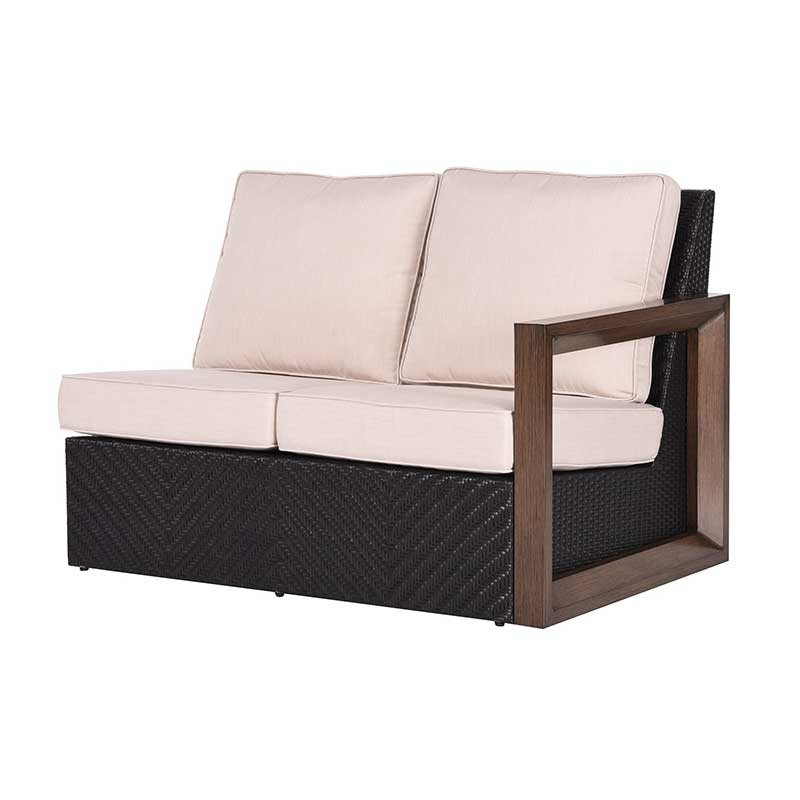 Delano 2 Seat Outdoor Sectional by Patio Time