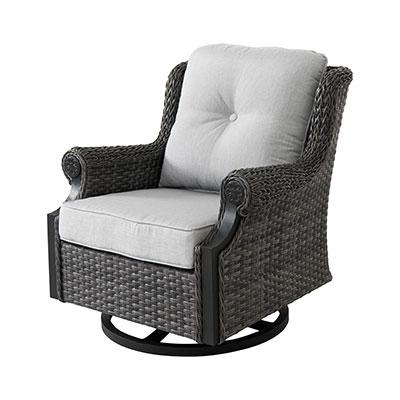 Lassen Outdoor Swivel Lounge Chair by Patio Sofa