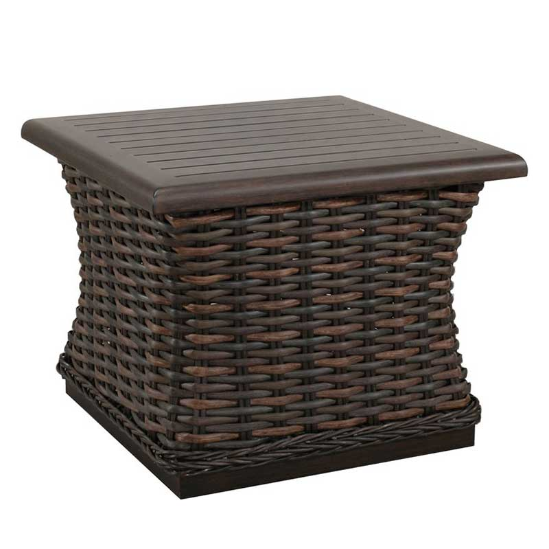 Woven End Table by Patio Renaissance