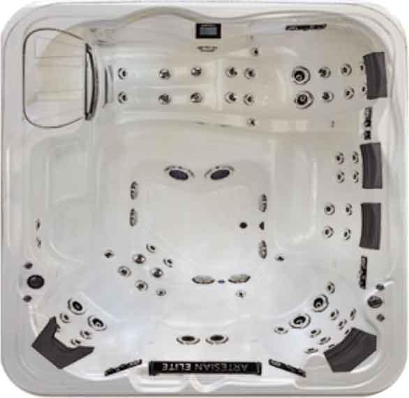 Artesian Elite Eagle Crest Spa & Hot Tub Sell Color - White Pearl