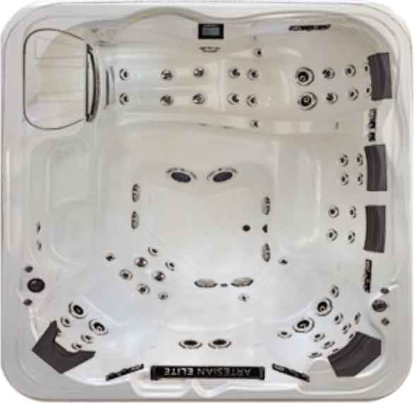 Artesian Elite Piper Glen Spa & Hot Tub - White Pearl