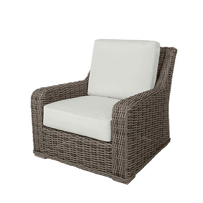 Laurent Outdoor Woven Lounge Chair by Ebel