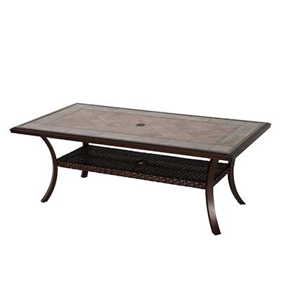 Brooks Outdoor Dining Table by Patio Time